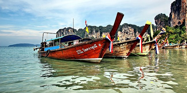 Boote in Asien